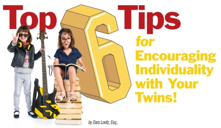 Top 6 Tips for Encouraging Individuality with Your Twins